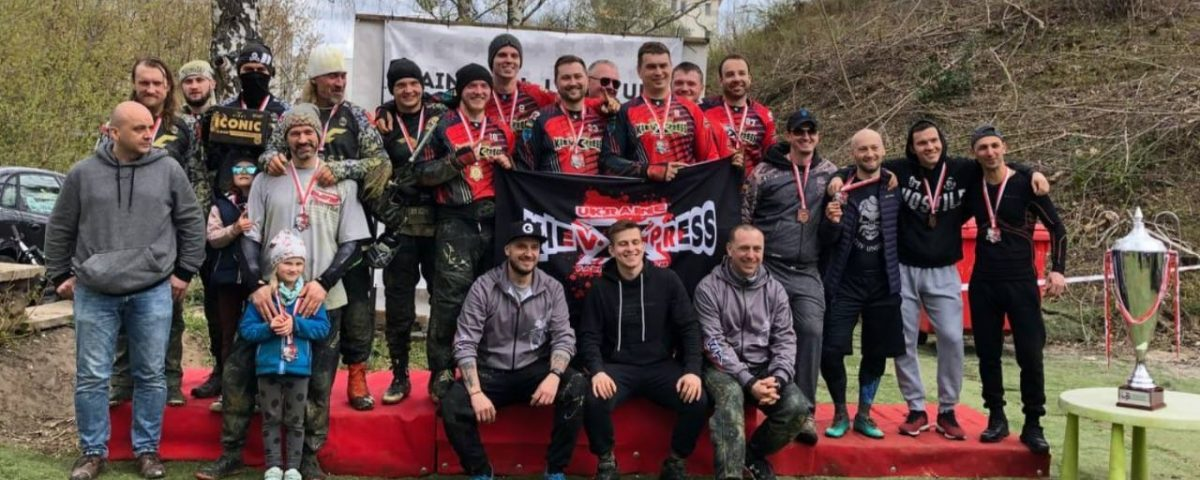 спортивный пейнтбол Украинские команды на Польском турнире